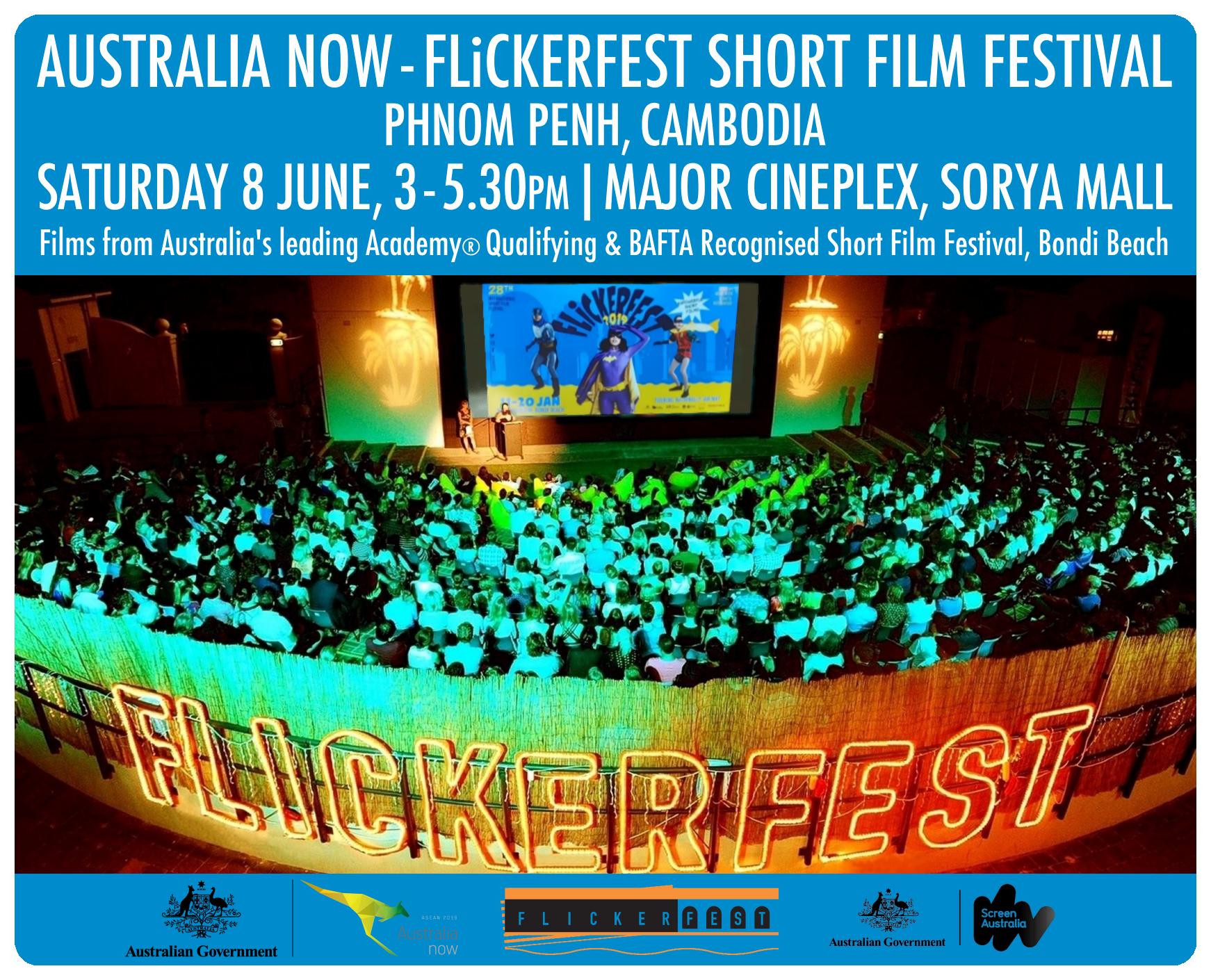 FLiCKERFEST Short Film Festival - Cambodia • Australia Now 2019